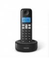 Philips D1601B Ασύρματο Τηλέφωνο Μαύρο