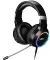 NOD DEPLOY USB Gaming Headset με RGB LED φωτισμό, δόνηση και χειριστήριο  (ΜΑΥΡΟ)