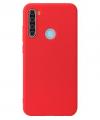 Θήκη ματ tpu σιλικονη μαλακή πίσω κάλυμμα για XIAOMI Note 8 Κοκκινο (oem)