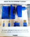 Dock για Iphone και Ipod 30pin - Μπλε (ΟΕΜ)