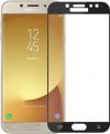 Τζαμάκι Full Glue Cover Tempered Glass Samsung J7 (2017) Black 9H (OEM)
