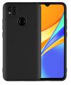 Eύκαμπτη TPU θήκη για Xiaomi Redmi 9C μαυρη (oem)