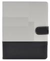 Θήκη Flip Ancus για Apple ipad 4 Λευκή - Μαύρη (Ancus)