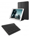 """Δερμάτινη Θήκη Bluetooth με Αποσπώμενο Πληκτρολόγιο για το Samsung Galaxy Tab A 10.5"""" (T590)  Μαύρη (OEM)"""