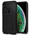 Θήκη TPU Gel  Μαύρη Slim Armor  για iPhone XS MAX (SPIGEN)