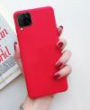 Eύκαμπτη TPU θήκη Samsung A42 5G - Κοκκινο (OEM)