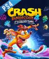 PS4 GAME - Crash Bandicoot 4 It's About Time (CD KEY)