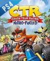 PS4 GAME - Crash Team Racing: Nitro-Fueled  (CD KEY)