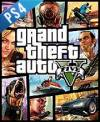 PS4 GAME - Grand Theft Auto V  (CD KEY)