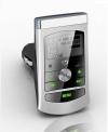 Car MP3 Player FM Transmitter Ασημί