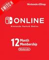 Nintendo Switch 365 Days Online Membership