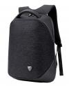 ARCTIC HUNTER τσάντα πλάτης B00216-DG, laptop, αδιάβροχη, σκούρο γκρί