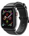 Λουρακι Δερματινο Dux Ducis Για Apple Watch 42/44mm Μαυρο  (Series 1, 2, 3 & 4)