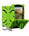 Universal Back Cover Θήκη Σιλικόνης Πρασινο για Tablet 9.0 έως 12.0 inch