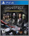 PS4 GAME - Injustice: Gods Among Us Ultimate Edition (MTX)