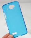 Μαλακή Θήκη TPU Gel για Alcatel One Touch Idol Mini OT-6012X/OT-6012D Σκούρο Μπλέ (ΟΕΜ)