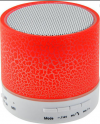 LAMTECH BLUETOOTH SPEAKER LED LIGHT WITH FM, ΣΕ ΚΟΚΚΙΝΟ ΧΡΩΜΑ RED