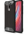 Armor Back Cover Ενισχυμένης Σκληρής Σιλικόνης για Xiaomi Redmi Note 8 - Μαύρο (bulk)(OEM)