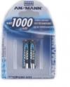 Μπαταρίες Ansmann AAA 950mAh επαναφορτιζομενες / 1.2 Volt Blister NiMH (2 Τεμάχια )