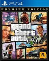 PS4 GAME - Grand Theft Auto V GTA V Prenium edition