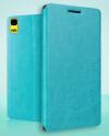 Lenovo K3 Note (K50) / (A7000) - Δερμάτινη Θήκη Stand Με Πίσω Κάλυμμα Σιλικόνης Τιρκουάζ (OEM)