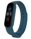 OEM Ανταλλακτικό Λουρί Σιλικόνης για Xiaomi Mi Band 5 Μπλε