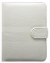 Θήκη Βιβλίο Universal για  Tablet 6'' Λευκή (Ancus)