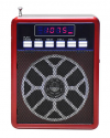 Kemai MD-83UK Mini MP3/Fm radio Speaker with microphone, built-in MP3 player and FM radio, support MP3 play from USB/SD Card - Red - Φορητό ηχείο με μικρόφωνο και δυνατότητα αναπαραγωγής Mp3 μέσω USB ή SD κάρτας και ενσωματωμένο FM δέκτη - Κόκκινο -