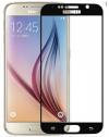 Προστατευτικό Οθόνης (Full)  9H Tempered Glass για Samsung Galaxy S6 Μαυρο (2018) (ΟΕΜ)