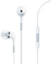 Άσπρα Stereo Earphones and MIC Handsfree τύπου ψείρες με ένταση για iPhone 3G 3GS & 4 / 4S IP-998MPW (OEM)