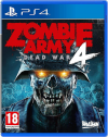 PS4 Game -Zombie Army 4 Dead War