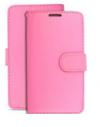Θήκη Δερματίνη Αναδιπλούμενη για Xiaomi Redmi 9 ανοιχτο ΡΟΖ (oem)