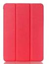 Δερμάτινη Θήκη με πίσω πλάτη σιλικόνης για το Samsung Galaxy Tab Pro 8.4 SM-T320 T325  Κόκκινη (ΟΕΜ)