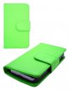 MLS Rock Mini iQ1040 - Δερμάτινη Stand Θήκη Πορτοφόλι Πράσινο (OEM)