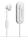 Bluetooth ασύρματο ακουστικό ClipOn MAJESTIC HD 15BT Λευκό