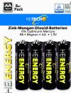Μπαταρίες HEITECH ENERGY AA 1.5V (8 ΤΕΜΑΧΙΑ)