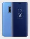 Θήκη Clear view για Samsung Galaxy J8 (2018) ΜΠΛΕ (ΟΕΜ)