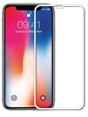 Tempered Glass 5D Full Glue για iPhone XR, Ασπρο (OEM)
