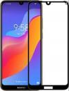 Full Face Προστατευτικό οθόνης 9H Tempered Glass για Huawei Y7 2019 Black (OEM)