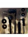 Ακουστικά In-Ear Stereo 3.5MM με μικρόφωνο 1.2m : Mαύρο Χρώμα (OEM)