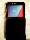 Lenovo K5 Pro Θήκη Flip Wallet Window - Μαύρο (ΟΕΜ)