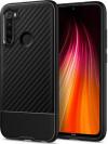 Spigen Core Armor Back Cover Σιλικόνης Matte για Xiaomi Redmi Note 8 - Μαύρο