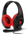 SOG PRO STEREO HEADPHONES MIC JACK 3.5mm PC / NINTENDO SWITCH black red