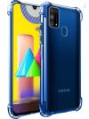 Θήκη ματ tpu σιλικονη μαλακή πίσω κάλυμμα για Samsung Galaxy M31 - Διαφανες (oem)