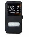 Motorola Nexus 6 - Δερμάτινη Stand Θήκη Πορτοφόλι Μαύρο (ΟΕΜ)
