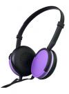 Maxell Super Slim Ακουστικά Κεφαλής MXH-HP200 με Ενσωματωμένο Μικρόφωνο Μωβ