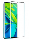 Tempered Glass 9H Xiaomi  Mi Note 10 Pro Black (OEM)