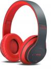 Ασύρματα Bluetooth ακουστικά με ράδιο P15 4.2+EDR ΚΟΚΚΙΝΟ (OEM)