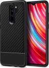 Spigen Core Armor Back Cover Σιλικόνης για Xiaomi Redmi Note 8 Pro - Μαύρο