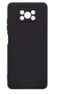 Θήκη ματ tpu σιλικονη μαλακή πίσω κάλυμμα για XIAOMI POCO X3 Μαύρο (oem)